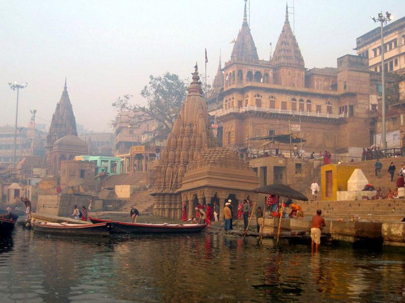 Varanasi Ghats - photo by Julie Daley