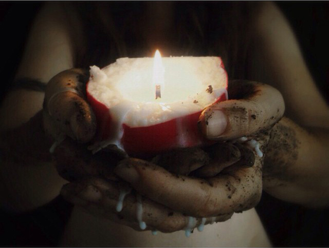 Activated Truth Woman with Candle, Soul Growth Story